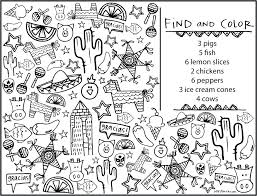 Kids Menu Coloring Page Coloring Page Easy And Fun To Draw