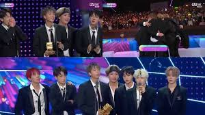 Bts Takes Home Artist Of The Year Award For 2nd Year In A
