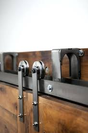 Overlapping Barn Doors Bypass Sliding Door Hardware Kit – Asusparapc