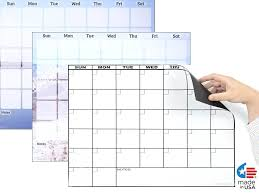weekly calendar dry erase board magnetic dry erase refrigerator calendars calendar dry erase board with cork