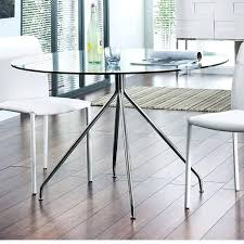 metal glass dining table round dining table metal base