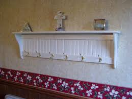 Entry Coat Rack Shelf Gorgeous White Coat Hooks Wall Mounted Hook Coat Rack Wall Coat Rail White