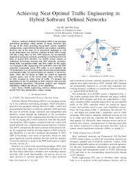 PDF) Achieving near-optimal traffic engineering in hybrid Software ...