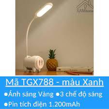 Đèn bàn học tích điện để bàn có sạc pin kèm theo | Đèn bàn