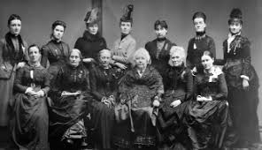 「president (1892-1900) of the National American Woman Suffrage Association」の画像検索結果