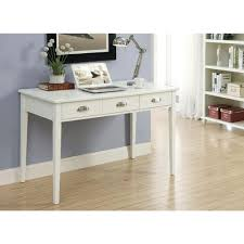 white desk. Amelia White Desk With Storage