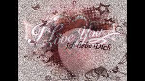 Für Meinen Schatz Ich Liebe Dich Von Ganzem Herzen Youtube