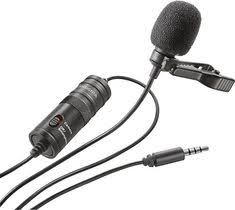 boya by m8od professional omni directional xlr output clip on lapel condenser microphone for camcorder audio recorder video mic