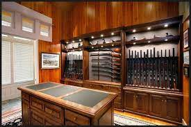 Photo 3 of 3 in Homemade Wooden Gun Storage for Rifles - Dwell