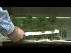 how to wire an x section using an atlas snap relay and existing making miniature decidious trees model railroad scenery easytrees model railroad hobbyist mrh