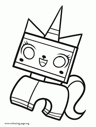 Get This The Lego Movie Coloring Pages Free Printable 655760