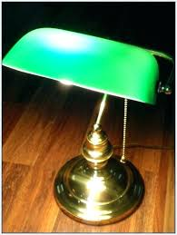 green desk lamp vintage replacement glass bankers shade nz