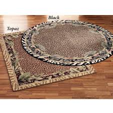 cool leopard print rug jungle safari animal round area ruger for your interior decorcool decor australiacool