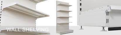 wall shelving units. Wall Shelving, Ideal Shelving Arrangement With Adaptable Shop Units