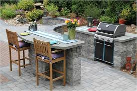 how to build an outdoor kitchen with pavers cinder block bbq island plans simple outdoor kitchen
