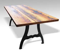 Reclaimed Farm Table With New York Machine Legs Olde Good Things