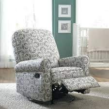 fabric rocking chairs living room furniture the grey and cream fabric nursery swivel glider recliner chair