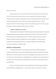 teaching for understanding framework in practice  10