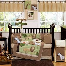 Comely Pictures Of Jungle Baby Nursery Room Design And Decoration Ideas :  Breathtaking Jungle Baby Nursery