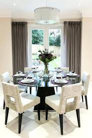 dining tables 60 round glass dining table inch top room transitional with