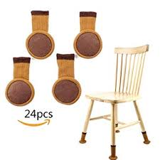 likiq chair leg socks for hard wood floor protectors furniture stretch knitting wool socks with felt pads fit square round feet girth 3 6 11 to 7
