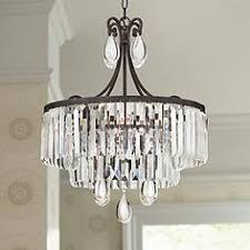bronze and crystal chandelier. Luba 20\ Bronze And Crystal Chandelier N