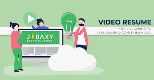 Video Resume Tips Video Resume Professional Tips For Landing Your Dream Job