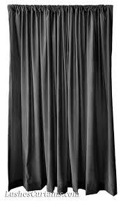 custom studio stage backdrop d solid black velvet 13 foot curtain long panel