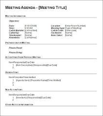 agenda meeting template word sample agenda template word rome fontanacountryinn com