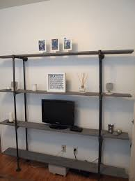 First How To Build Plumbing Pipe Shelves ...