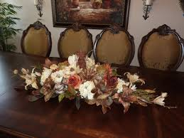 Silk Flower Arrangements For Dining Room Table 16417