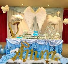 54 Best Heaven Sent Baby Shower Images On Pinterest  Angel Baby Angel Baby Shower Decorations