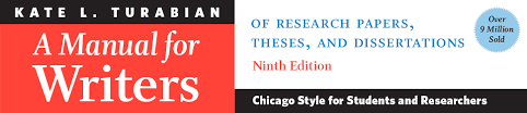 university of chicago press books manual for writers of research papers theses and dissertations ninth edition