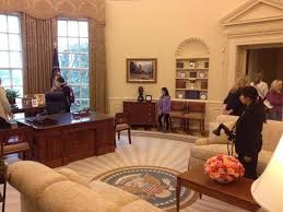 george bush oval office. The George W. Bush Presidential Library And Museum: Oval Office Replica, N