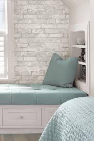 bedroom wallpaper design ideas. Create An Elegant Statement With A White Brick Wall Design Ideas Bedroom Wallpaper