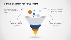 Powerpoint Funnel Chart Template Creative Funnel Diagram Template For Powerpoint