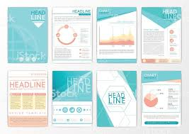 Abstract Background Design Business Brochure Big Set Flyer Marketing ...