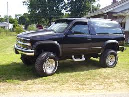 1993 chevy blazer k1500 tahoe 2dr. lifted and supercharged 37 ...