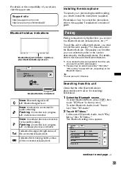 sony xav 72bt code operating instructions