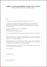 Fundraising Thank You Letter Templates Contribution Letter Template