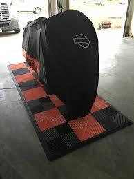harley davidson moto pad swisstrax flooring