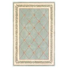 kas rugs french trellis sage ivory 5 ft 3 in x 8 area rug