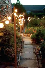 Patio Lighting Ideas Breathtaking Yard And Patio String Lighting