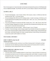 Shell Scripting Resume Sample Best Of 24 Programmer Resume Templates DOC PDF Free Premium Templates