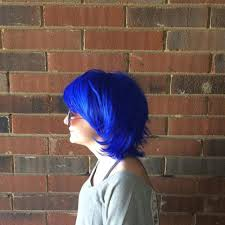 This Blue Men Style Hair Wig
