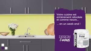 Rénover Sa Cuisine Avec La Peinture Designvous Tollens Youtube