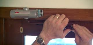 installing a pneumatic door closer