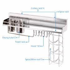 Kitchen Wall Shelf Popular Metal Kitchen Wall Shelves Buy Cheap Metal Kitchen Wall