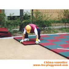 rubber floor mat outdoor rubber flooring outdoor playground safety flooring tiles