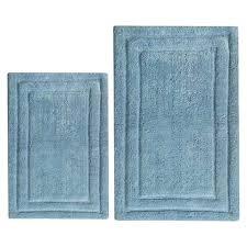 5 piece bathroom rug sets blue classic 2 bath set